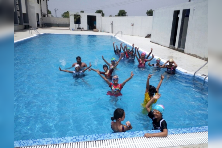 Krishna International Public School - Swimming Pool Facility