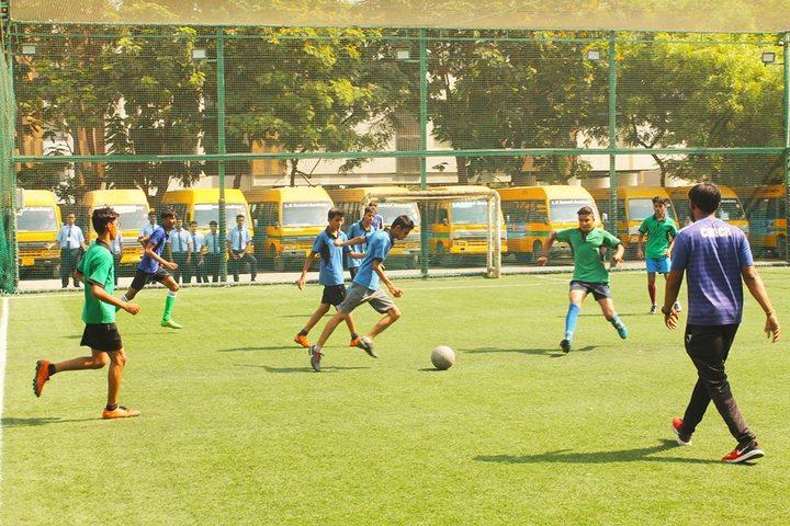 L P Savani Academy-Sports