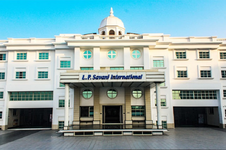 L P Savani International School-Campus