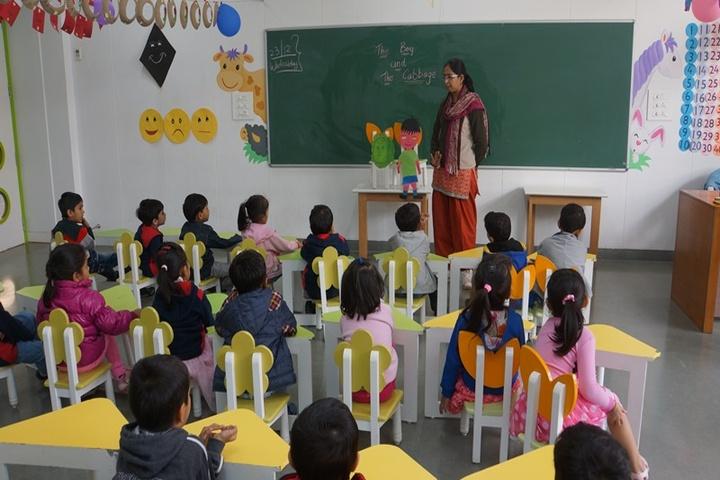 Lakshaya International School-Classroom
