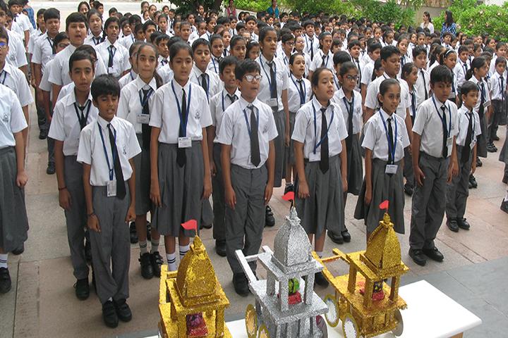 Lakshaya International School-Assembly