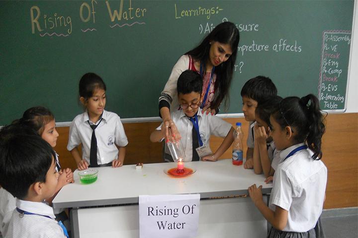 Lakshaya International School-Science Expriment