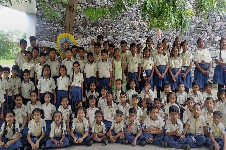 Mauryan High School-Students
