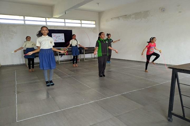 Mauryan High School-Dance Room