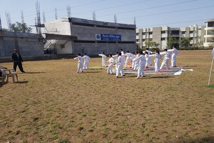 Mauryan High School-Karate