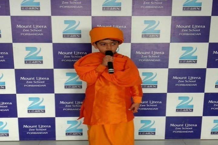 Mount Litera Zee School-Fancy Dress Competition