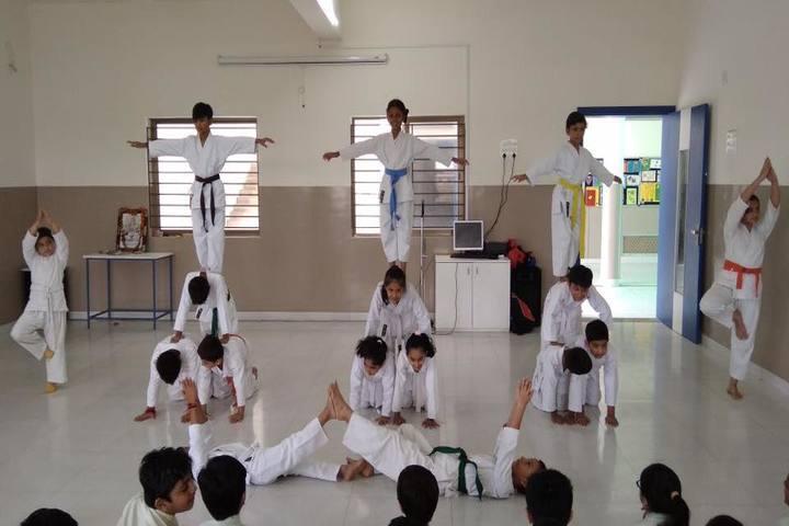 Mount Litera Zee School-Karate Activity