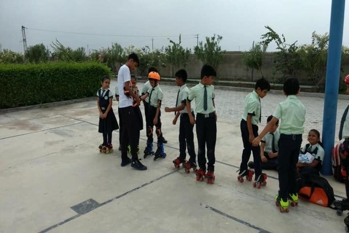 Mount Litera Zee School-Skating Activity