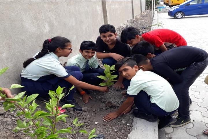Mount Litera Zee School-Tree Plantation