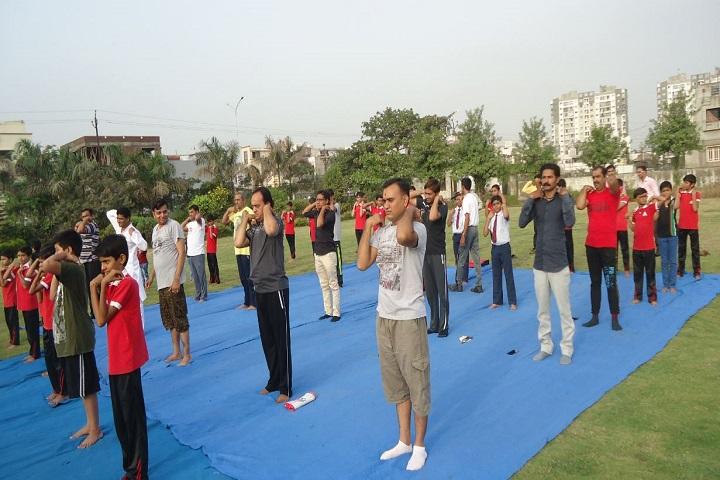 N C Thakar Education Campus-Yoga Day