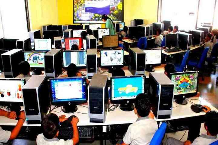 Naimisharanya School-IT Lab