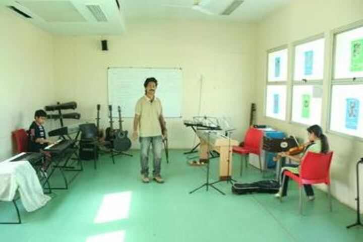 Navrachana International School-Music Room