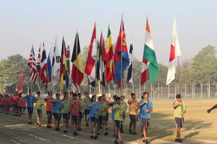 Navrachana International School-Sports Day