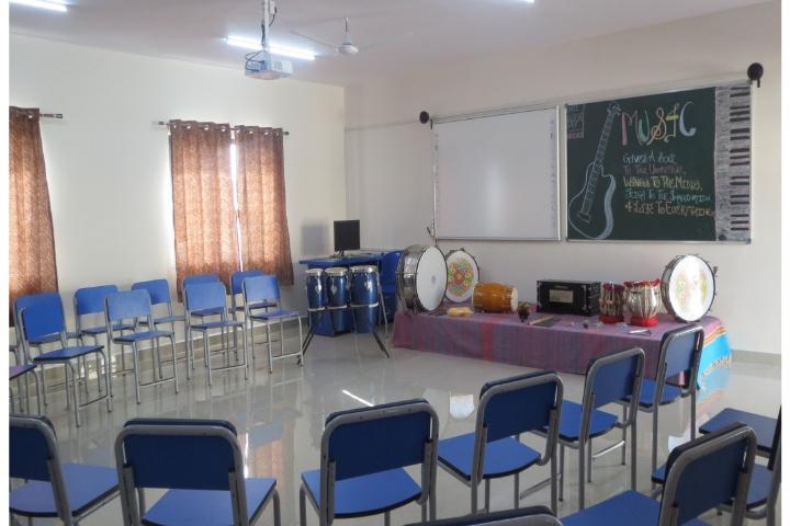 Navy Children School-Music Room