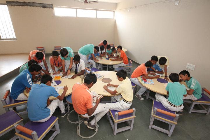 New Era Global School-Library