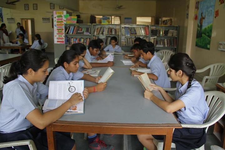 New Era Senior Secondary School-Library
