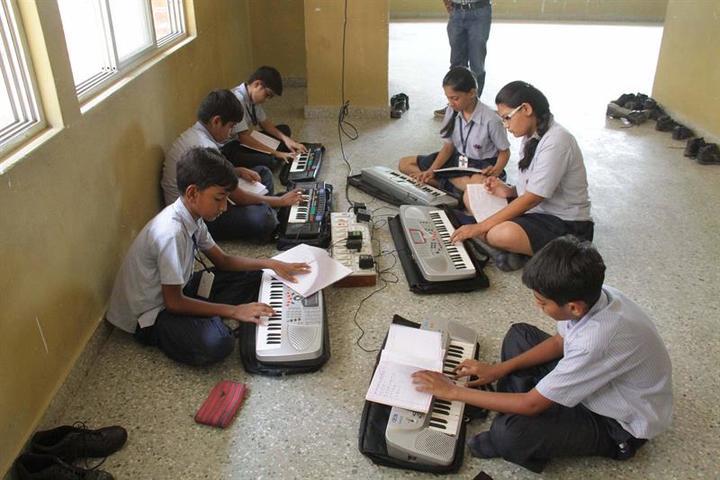 New Era Senior Secondary  School-Music