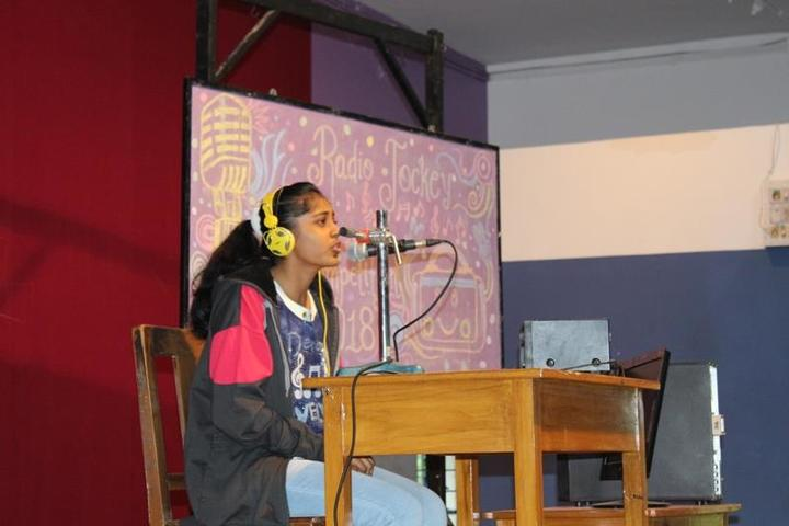 Nirmala Convent School-Radio jokey