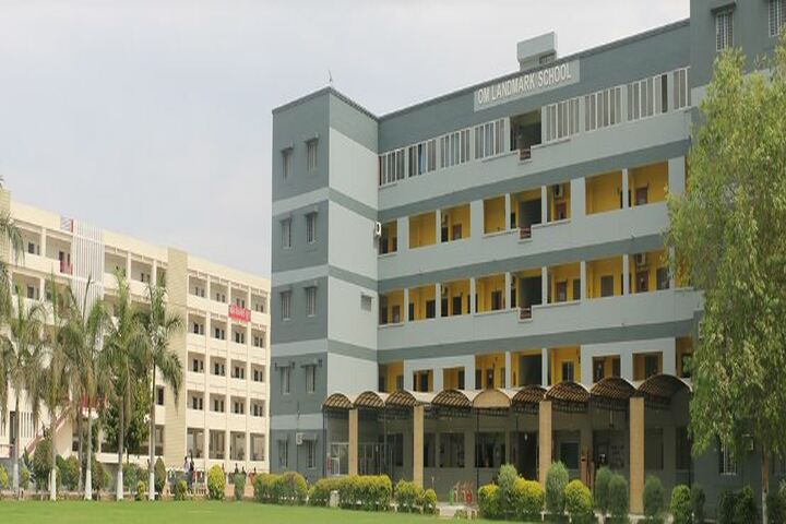 Om Landmark School-Campus view