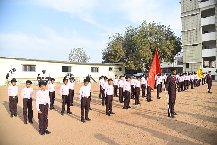 Om Landmark School-Students