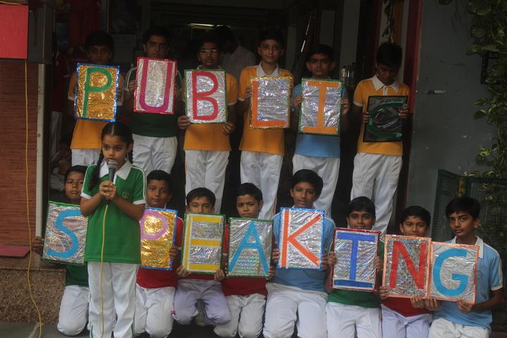Om Shanti English Medium School-Students