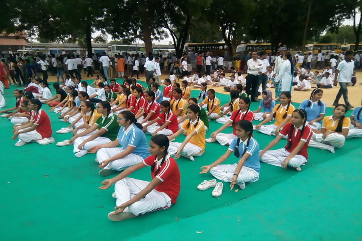 Om Shanti English Medium School-Yoga