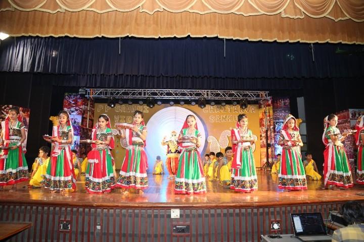 P P Savani Chaitanya Vidya Sankul-Festival