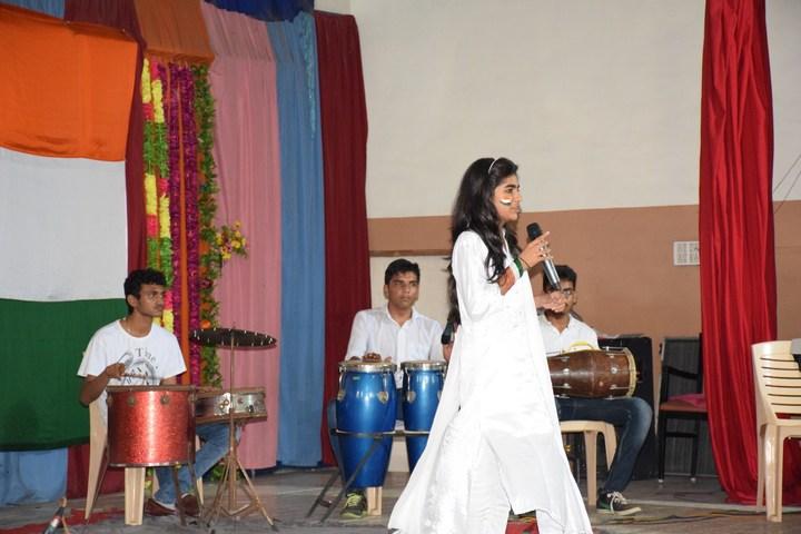 P P Savani Chaitanya Vidya Sankul-Singing Perfomance