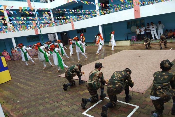 P.Chandra International School-Independence Day