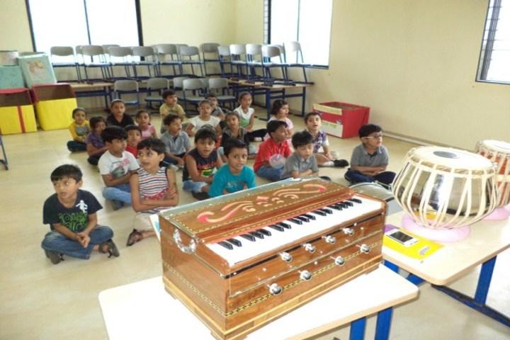 Podar International School-Music room