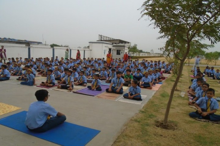 Podar International School-Yoga Day