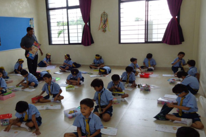 Podar International School-Drawing Activity