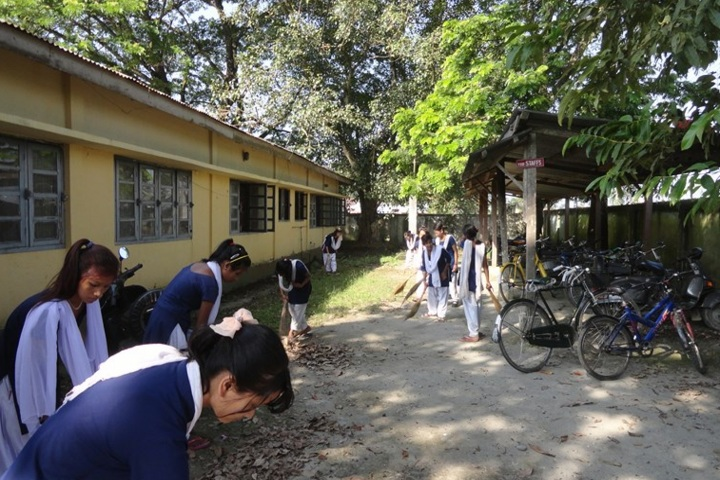 Government Higher Secondary School-Cleaning