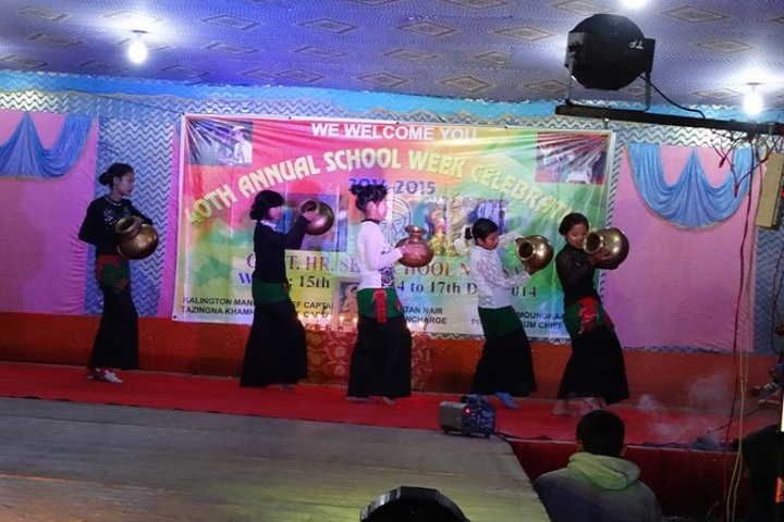 Government Higher Secondary School-Dance