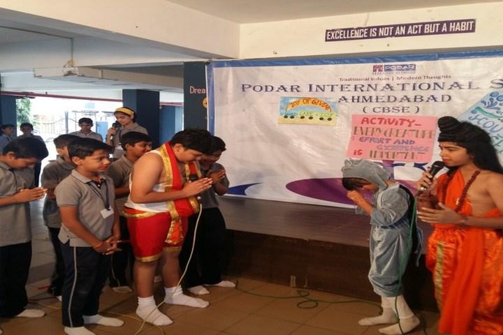 Podar International School-Activity