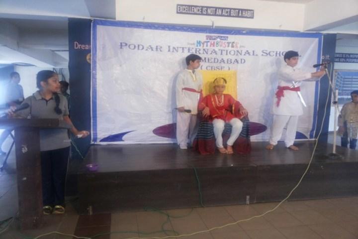 Podar International School-Mythbusters