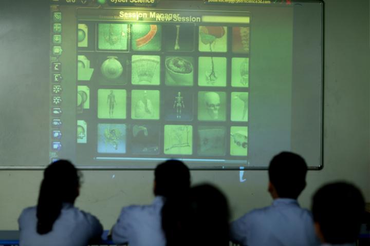 Podar World School-Classroom