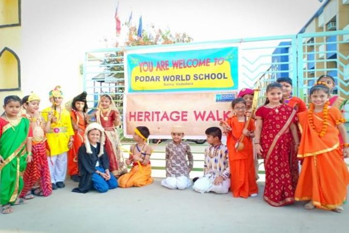 Podar World School-Heritage Walk