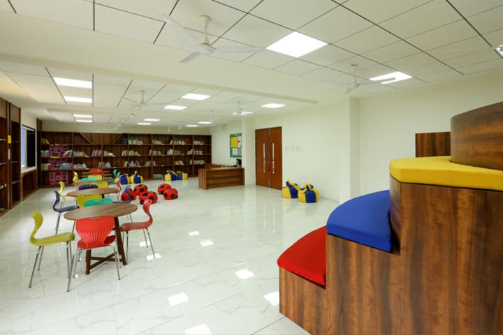 Podar World School-Reading Room