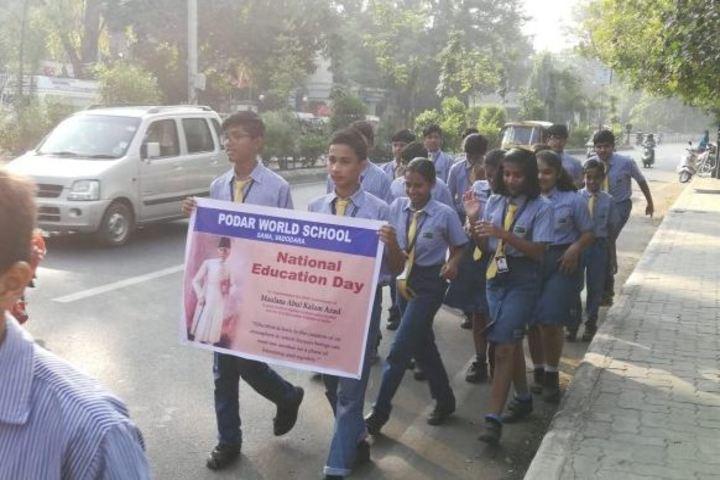 Podar World School-Rally