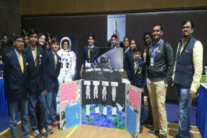 Podar World School-Robotic Competition