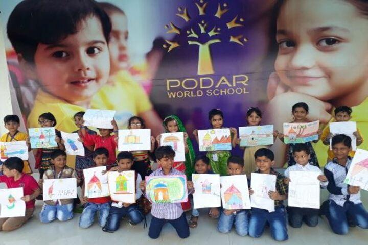 Podar World School-Drawing Activity