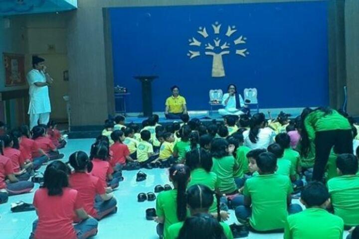 Podar World School-Yoga