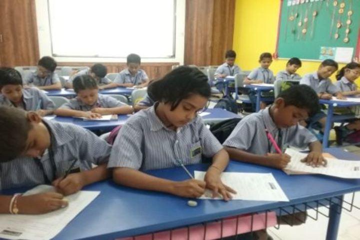 Podar World School-Handwriting Competition