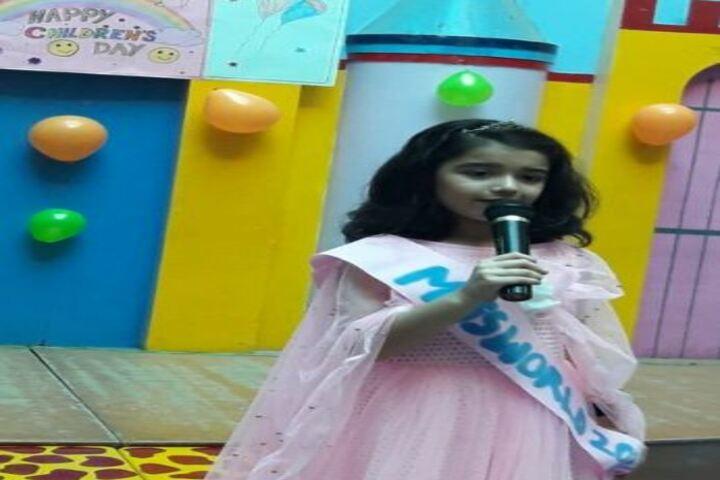 Podar World School-Singing Compitition