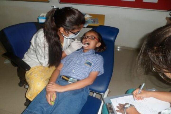 Podar World School-Medical Check Up