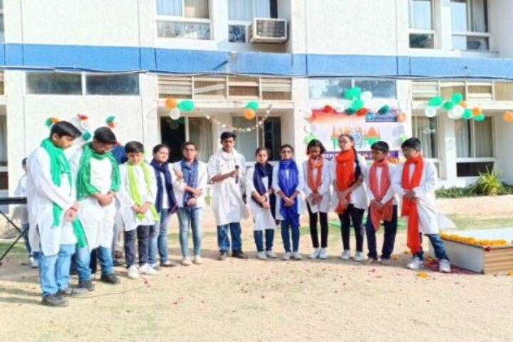 Podar World School-Republic Day