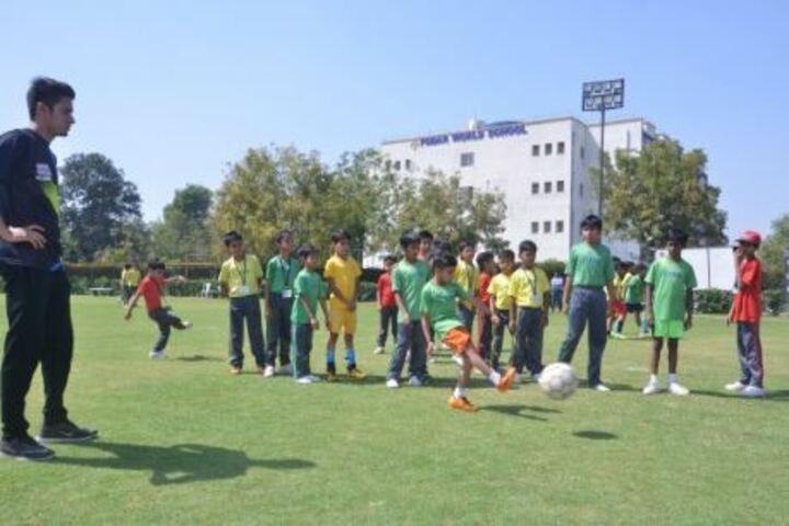 Podar World School-Ground