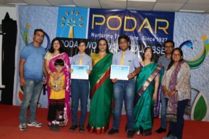 Podar World School-Event