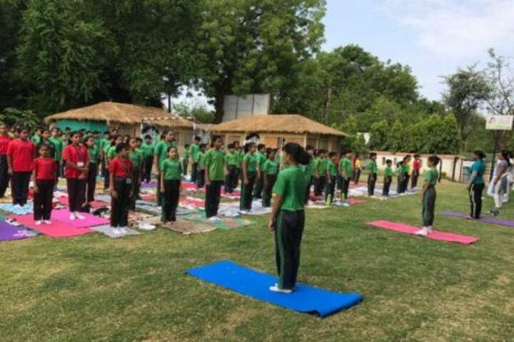 Podar World School-Yoga Day